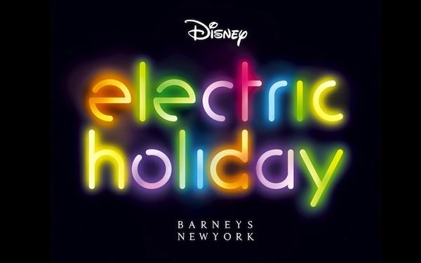 Electric Holiday par Disney pour Barney's !