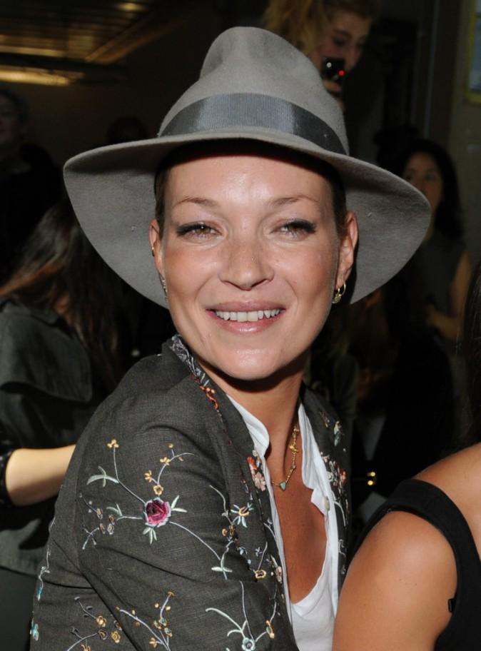 Kate Moss : le chapeau