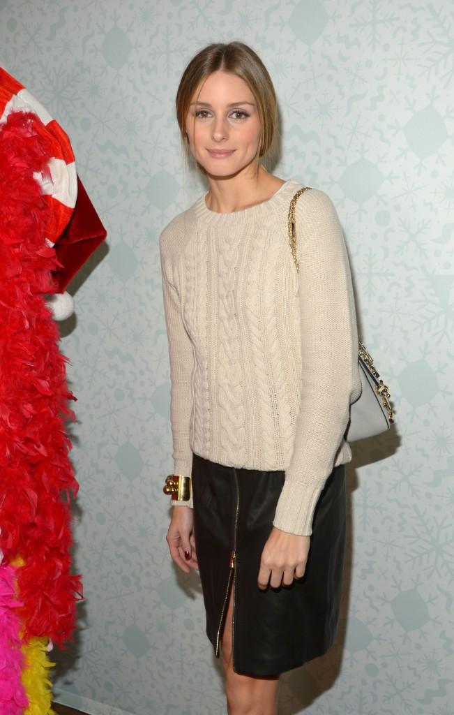 Olivia Palermo : le (sac) pastel