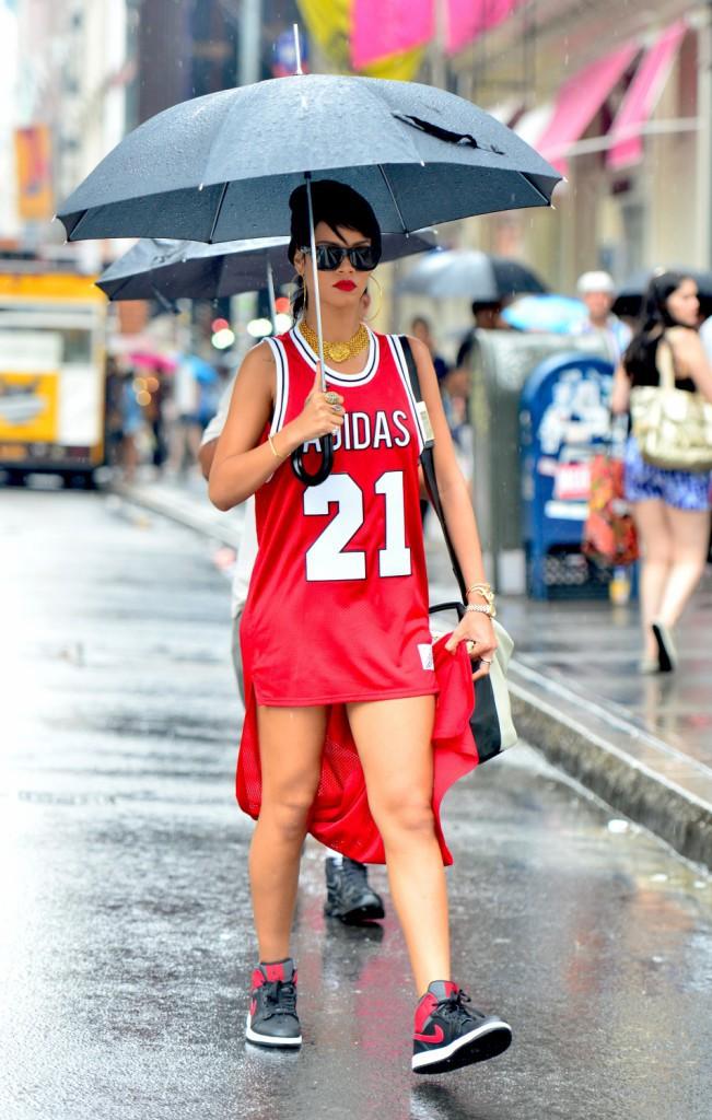 Rihanna : le sportswear