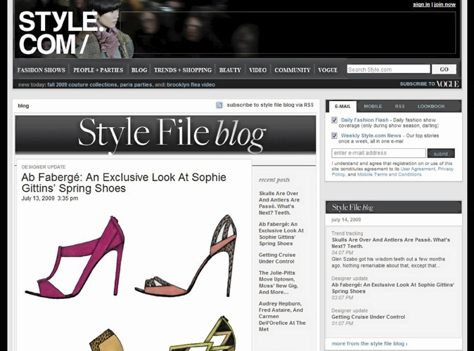 Mode: Style.com : et maintenant en version papier !