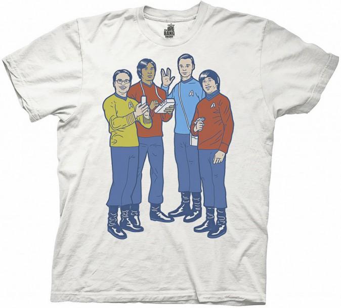 The Big Bang Theory sur hottopic.com, 9€