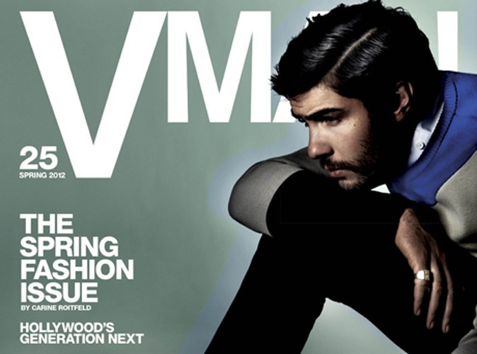 Mode : Tahar Rahim, un preppy boy en couverture de VMAN !