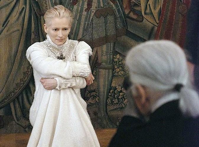 Mode : Tilda Swinton est la nouvelle égérie Chanel !
