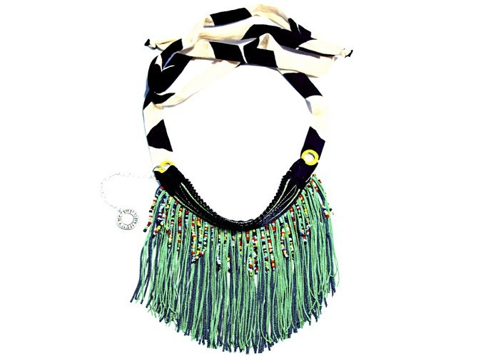 Mode : un collier tribal signé Lamia !