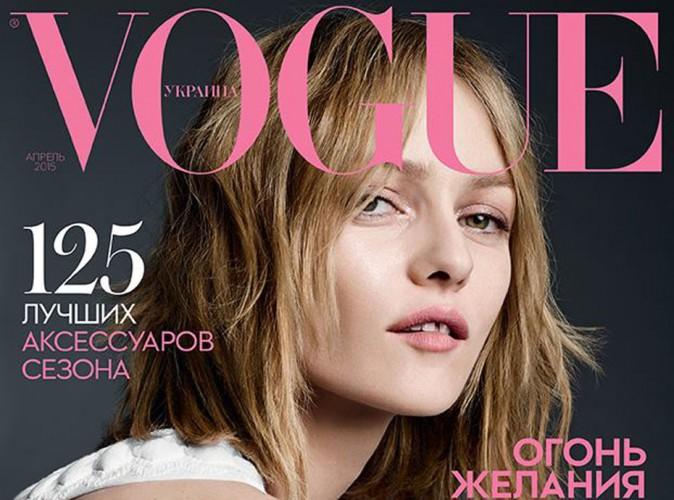 Mode : Vanessa Paradis : cover-girl nature et captivante pour Vogue Ukraine !