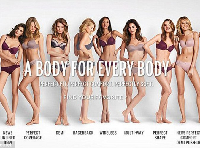 "Mode : Victoria's Secret : après le scandale ""The perfect Body"", la griffe change de slogan !"