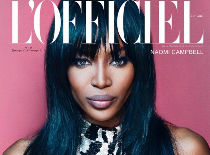 Naomi Campbell : une sublime panthère pour L'Officiel !