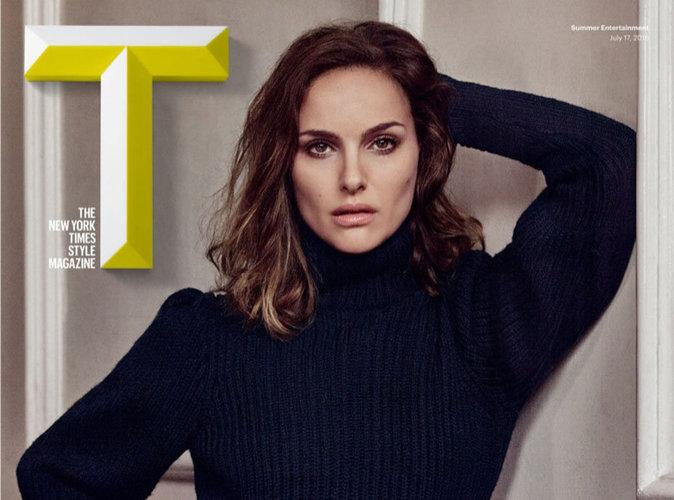 Natalie Portman : charismatique et en petite culotte pour T Magazine