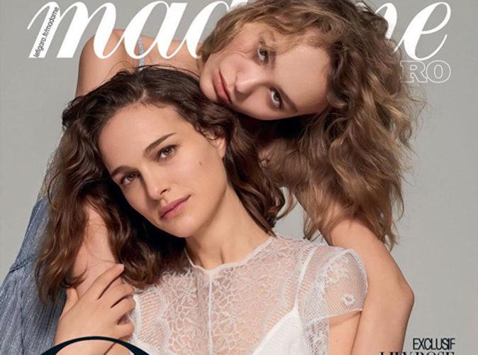 Natalie Portman et Lily-Rose Depp : deux anges en couverture de Madame Figaro !