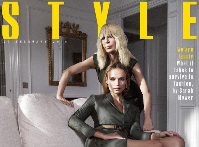 Natasha Poly : une beauté fatale épaulée par Donatella Versace !