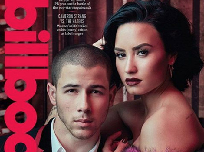 Nick Jonas et Demi Lovato : les BFF en couverture de Billboard