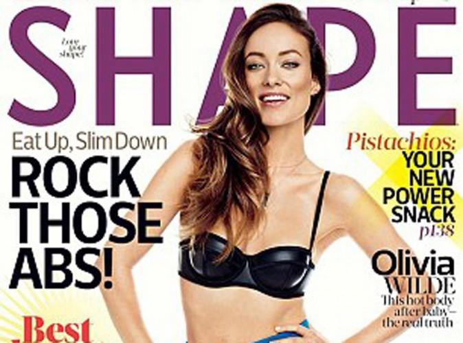 Olivia Wilde en couverture de Shape : la vie de mère lui va bien !