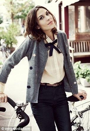 Alexa Chung pour Vero Moda...