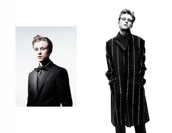 Photos : Rod Paradot pour la nouvelle campagne Dior homme !