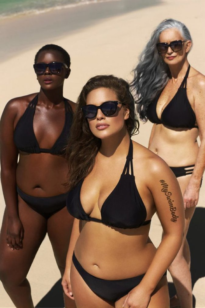 Photos : Ashley Graham : Le mannequin grand taille encore et toujours sublime en bikini
