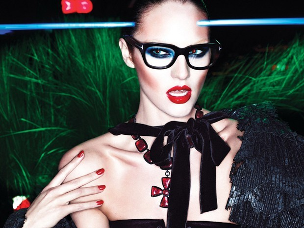 Candice Swanepoel pour Tom Ford !