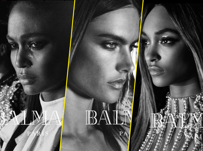 Joan Smalls, Alessandra Ambrosio, Jourdan Dunn