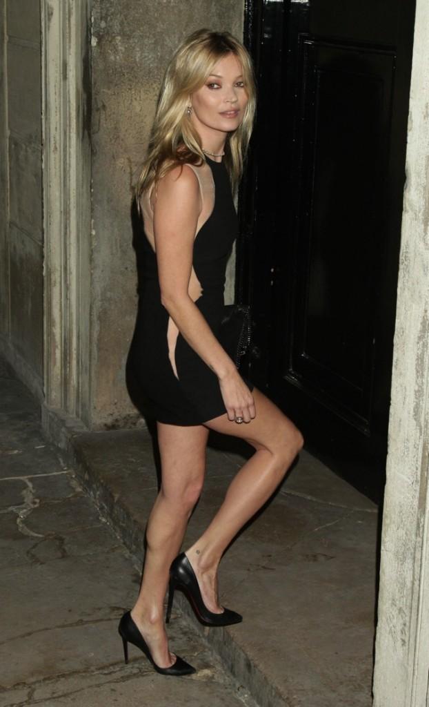 Kate Moss et ses talons chics et glamour !