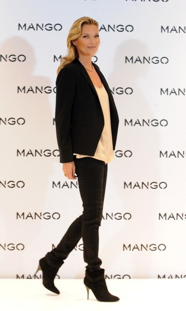 Kate Moss, la brindille ne sort jamais sans ses talons !
