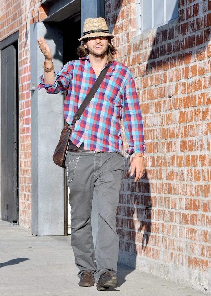 Ashton Kutcher à la roots !