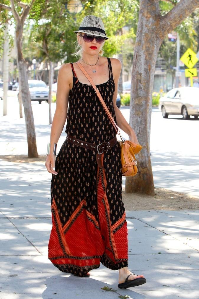 Gwen Stefani en total look ethique !