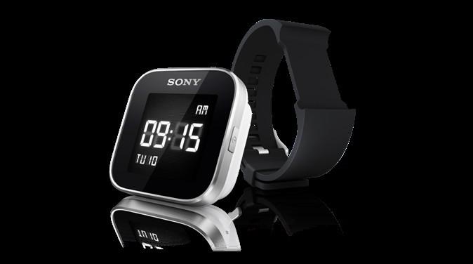 Montre avec accès aux applis et fonctions du smartphone de l'utilisateur. Smartwatch par Sony. 129 €
