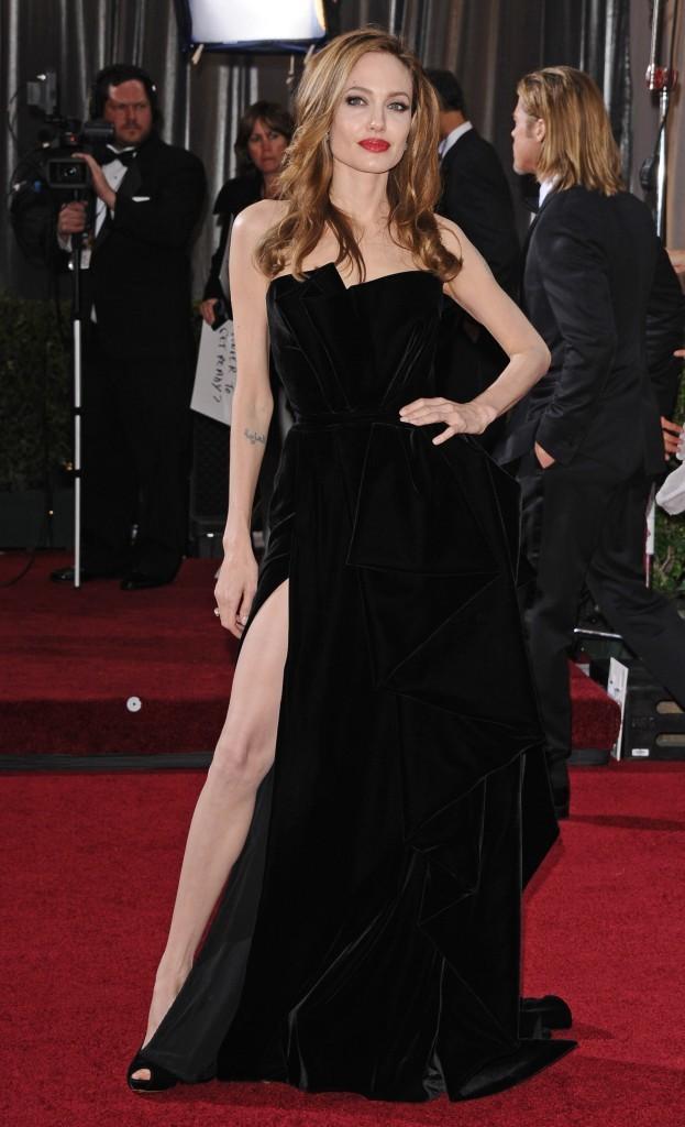 Angelina Jolie à la 84ème cérémonie des Oscars !