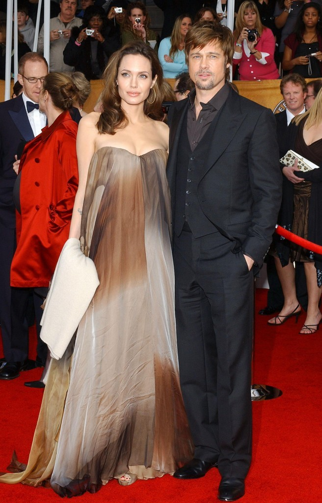 Angelina Jolie et Brad Pitt aux Screen Actors Guild Awards !