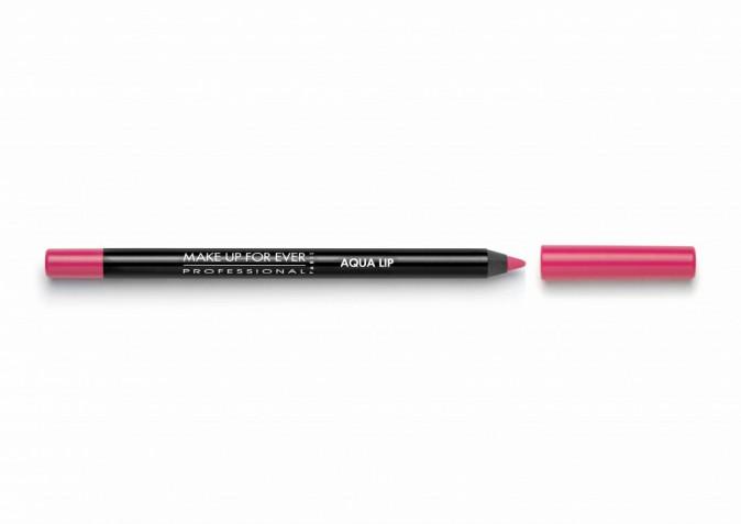 Beauty code : Crayon à lèvres Aqua Lip, Make up for Ever, 15,60 €