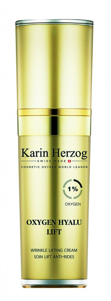 Soin lift antirides, Oxygen Hyalu Lift, Karin Herzog 140 €