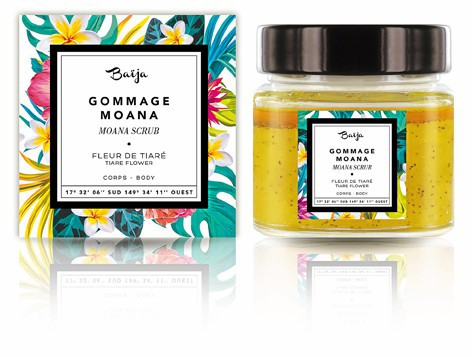 Parfum monoï Gommage corporel Moana, Baïja 10,90 €