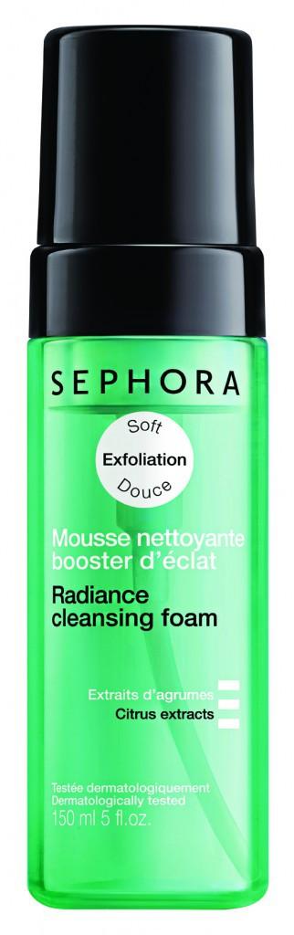 Spécial joli teint Mousse nettoyante booster d'éclat, Sephora 9,95€