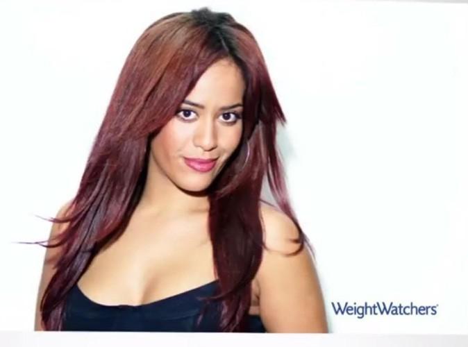 Beauté : Amel Bent pétillante et avec un swing d'enfer dans la dernière campagne pour Weight Watchers !