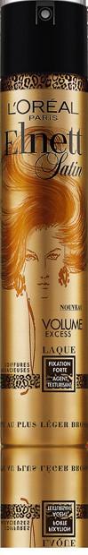 Laque Volume Excess, Elnett Satin, L'Oréal Paris, 8,90€