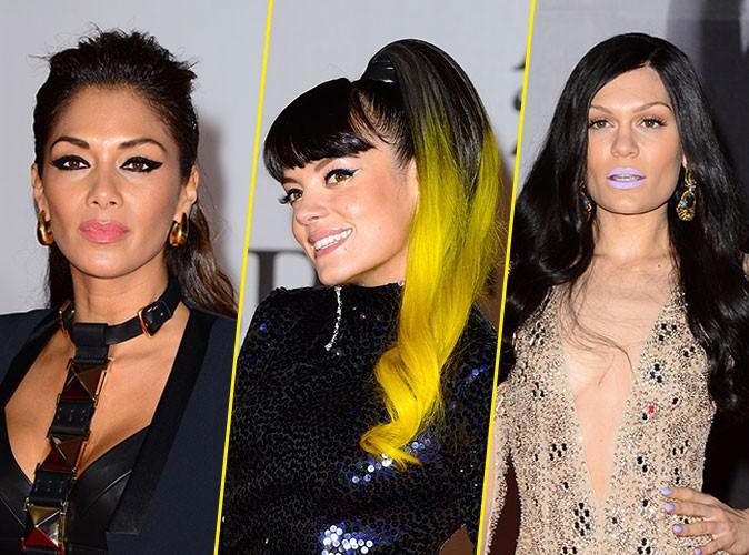 Les plus belles coiffures des Brit Awards 2014