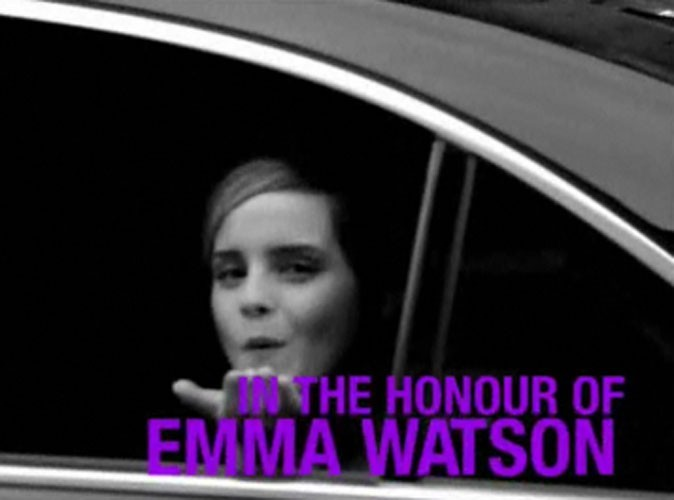 Beauté : Emma Watson s'est rendue à Paris pour l'évènement