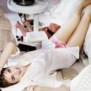 Emma Watson pour le nouveau Rouge in Love de Lancôme