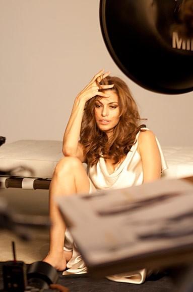 Eva Mendes pour Pantene : le making-of de la campagne !