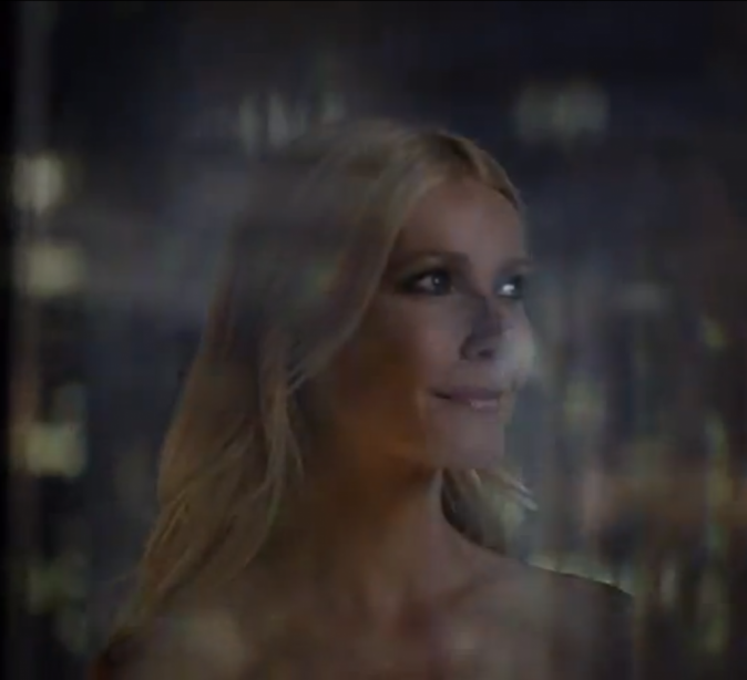 Gwyneth paltrow pour Hugo Boss Nuit...