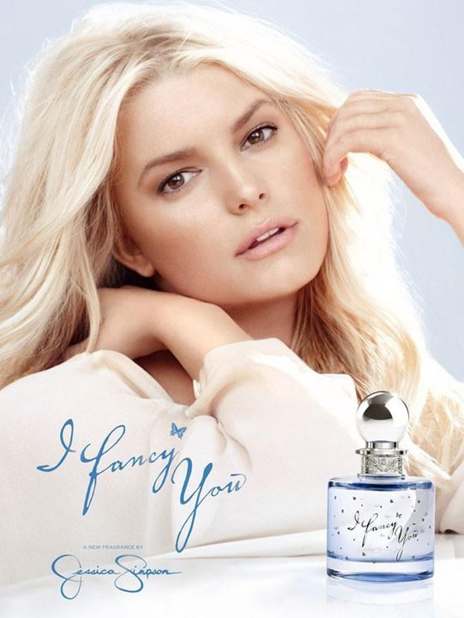 Le nouveau parfum de Jessica Simson, I Fancy You !