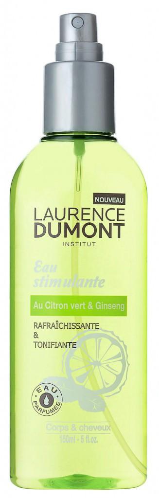 Eau stimulante citron vert & ginseng, Laurence Dumont 5,95 €