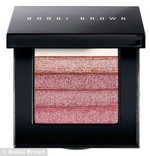 Palette teinte rose blush
