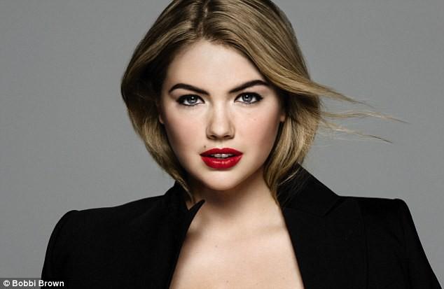 Beauté : Kate Upton : des lèvres gourmandes pour Bobbi Brown !