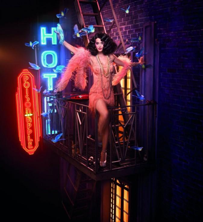Katy Perry pour GHD retour dans le temps
