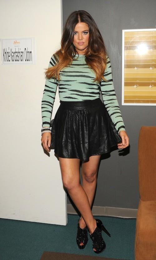 Khloé Kardashian en fevrier 2012