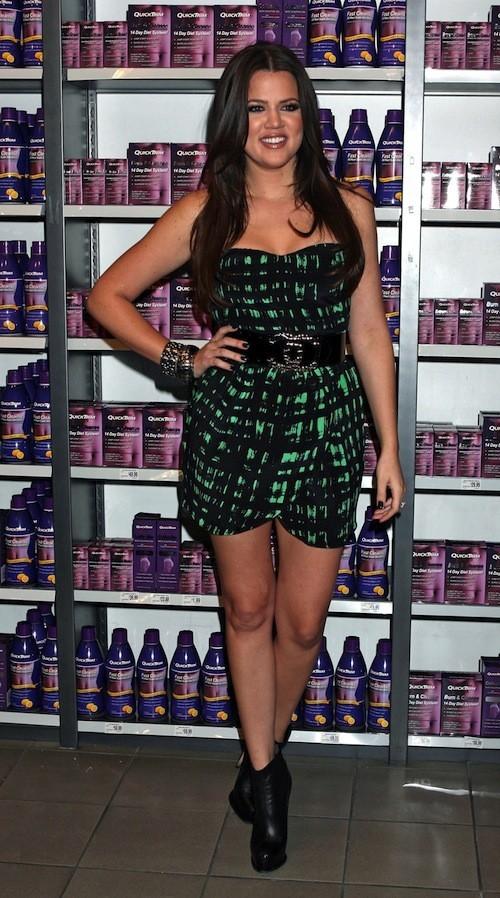 Khloé Kardashian en octobre 2009