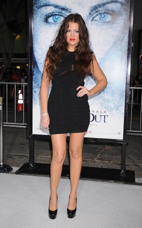 Khloé Kardashian en septembre 2009