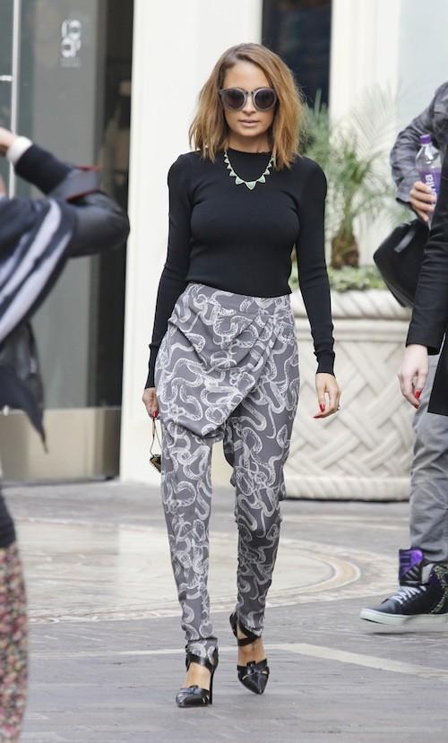 Nicole Richie le 7 février 2013