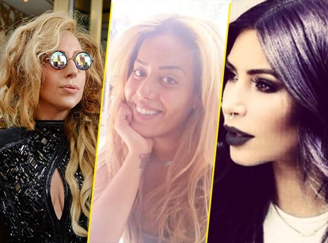 Lady gaga, Amel Bent, Kim Kardashian … vachement stylées avec leur anneau dans le nez ?